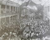 1899 Opening of St Vincent's Easter bazaar in the Royal Exhibition Building Carlton Gardens