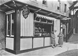 1928 c Little Green Shop - hospital kiosk set up and staffed for many years by hospital volunteers