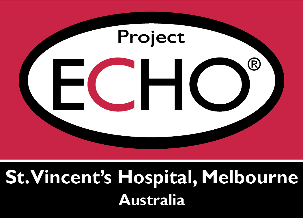 St. Vincents Hospital Melbourne ECHO Logo