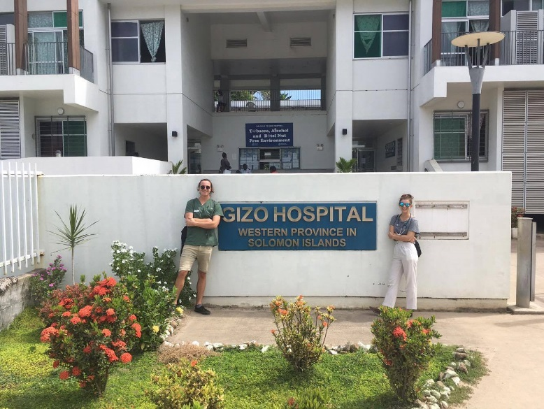 Sophia Hill at Gizo Hospital