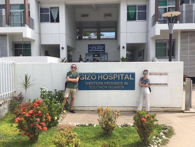 Sophia Hill at Gizo Hospital